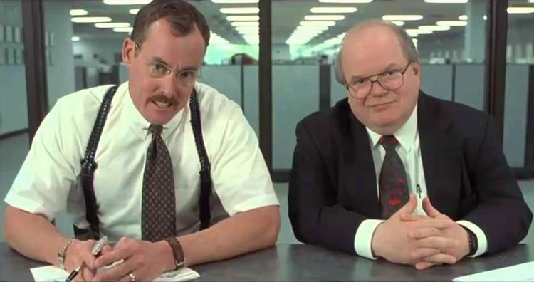 Consultants. Credit: Office Space, 20th Century Fox